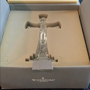 Waterford Accents - Waterford crystal Cross